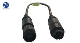 Trailer Truck Backup Camera Cable 6 Pin Male To Female For Video Signal Transmit
