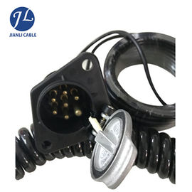 Customized High End 7 Pin Rear View Camera Trailer Cable Connector